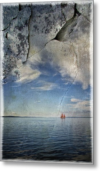 Coast Of Maine Metal Print