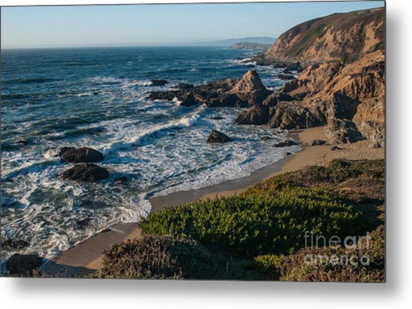 Coastal California  2.2744 Metal Print by Stephen Parker
