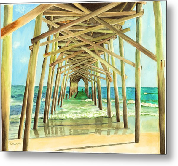 Coastal Cathedral  Metal Print