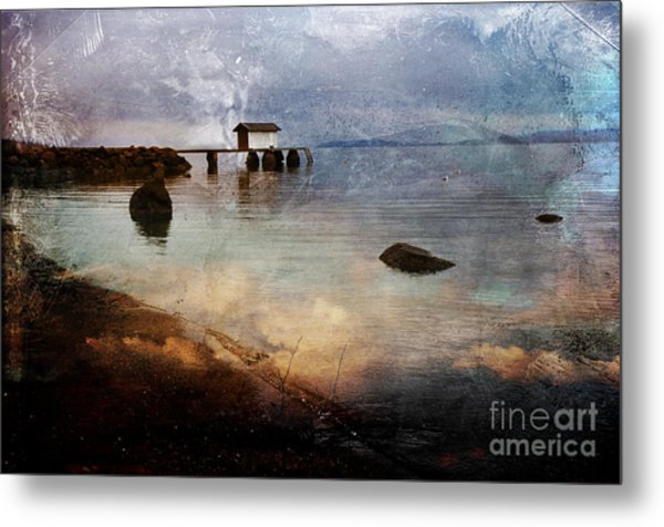 Coastal Path Metal Print