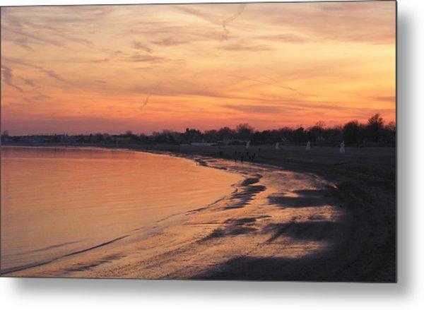 Coastal Sunset  II Metal Print by Margie Avellino