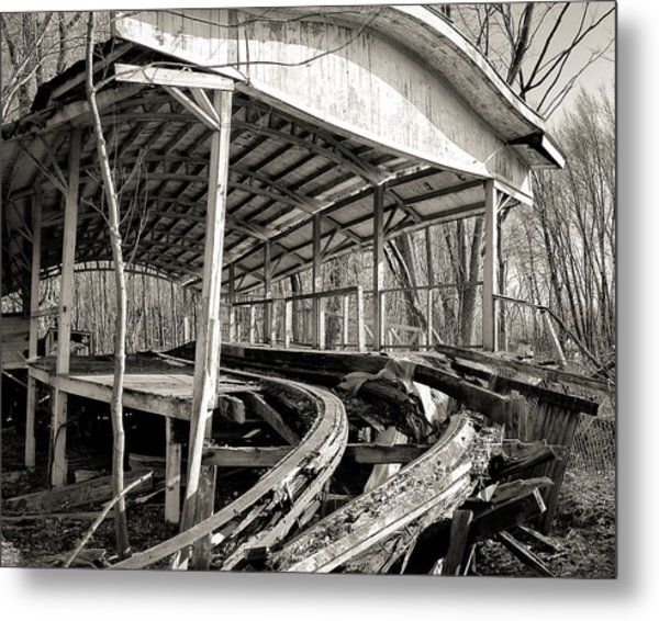 Coaster Entrance Metal Print
