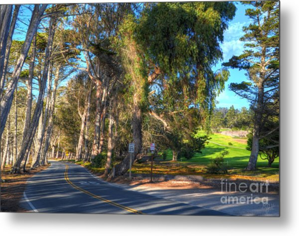 Coastline Highway Metal Print