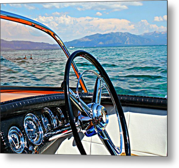 Cobra Cockpit Metal Print
