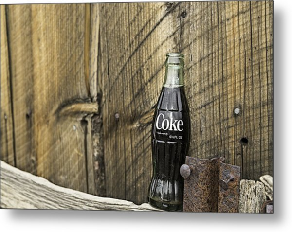 Metal Print featuring the photograph Coca-cola Bottle Return For Refund 9 by James Sage