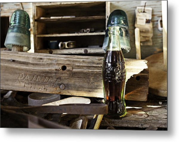 Coca-cola In The Light Of Day 4 Metal Print