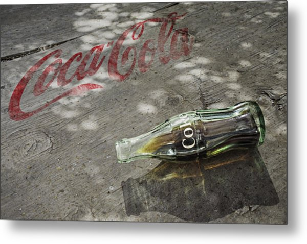 Metal Print featuring the photograph Coca-cola Loved All Over The World 6 by James Sage