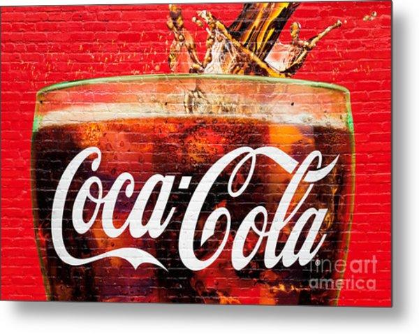 Coca Cola Metal Print