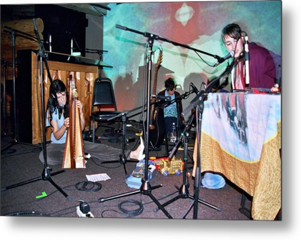 Coco Rosie At The Doug Fir In Portland Oregon Metal Print