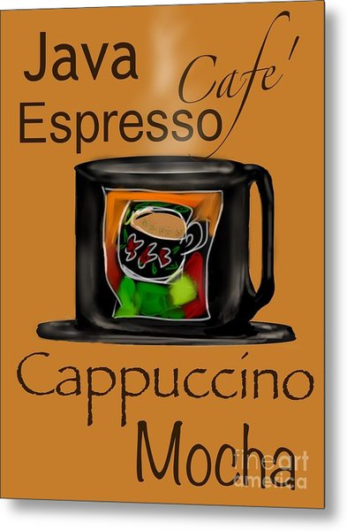 Coffee Break Metal Print