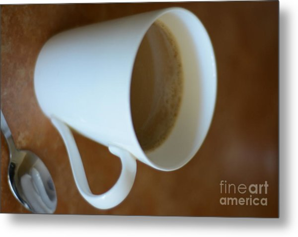 Coffee Cup 01 Metal Print by Bobby Mandal