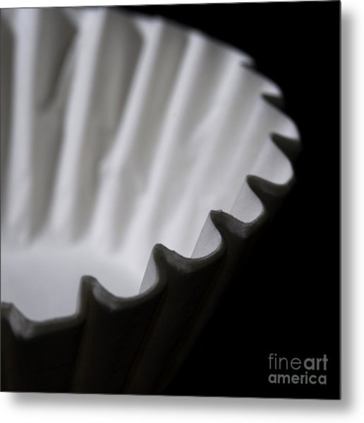 Coffee Filters Metal Print