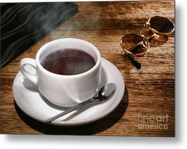 Coffee For The Voyageur Metal Print
