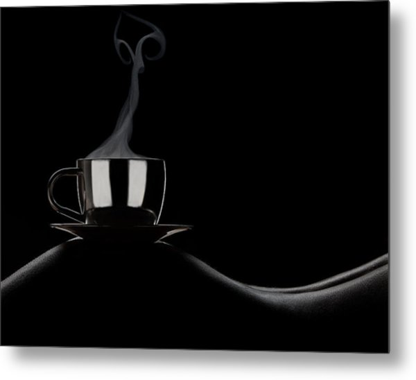 Coffee In Bed Metal Print by Dmitriy Batenko