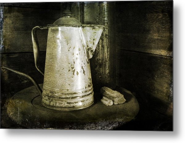 Little Coffee House On The Prairie Metal Print