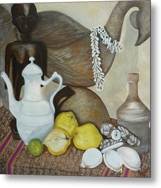 Coffee Pot Metal Print