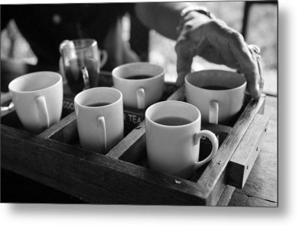 Coffee Tasting - Bali Metal Print