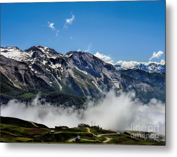 Col D Aubisque France - 03 Metal Print by Graham Taylor