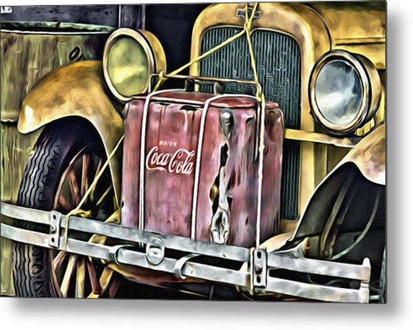 Cola Road Trip 2 Metal Print