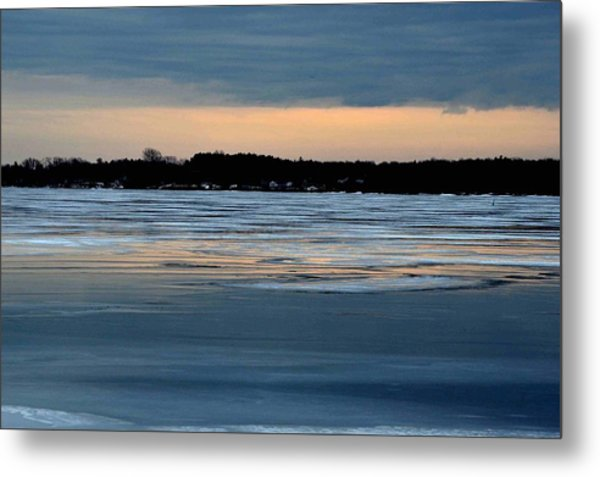 Cold Colour Wash 1 - Canada Metal Print