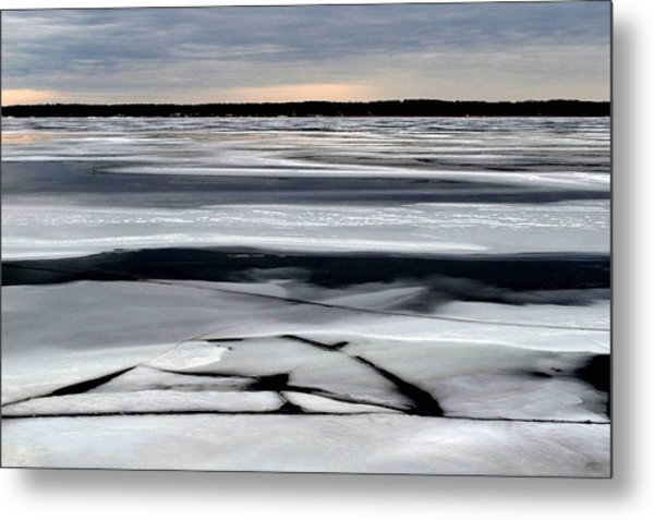 Cold Colour Wash 2 - Canada Metal Print