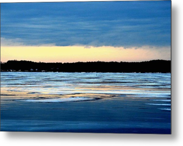 Cold Colour Wash 3 - Canada Metal Print