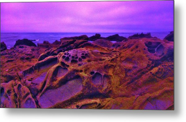 Cold Lava Metal Print by Sharon Costa