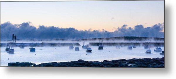 Cold New England Day  Metal Print