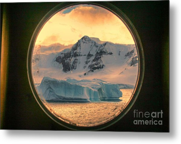 Cold View Metal Print