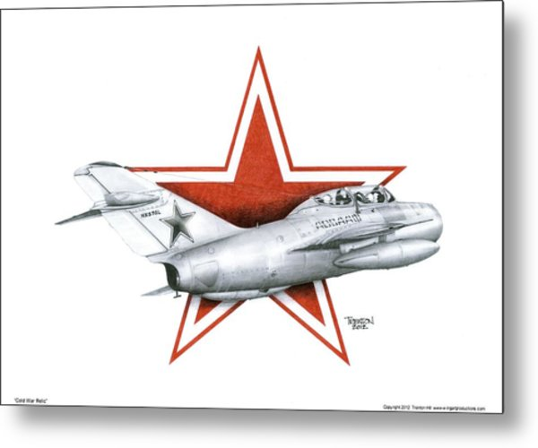 Cold War Relic Metal Print by Trenton Hill