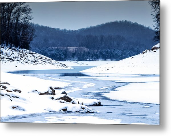 Cold Winter Day Metal Print