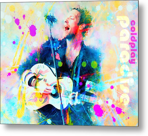 Coldplay Paradise Metal Print