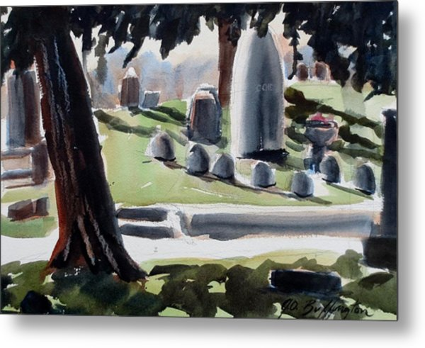 Cole Porter Burial Site Metal Print