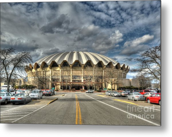 Coliseum Daylight Hdr Metal Print