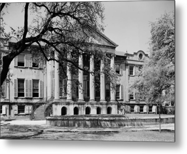 College Of Charleston Main Building 1940 Metal Print