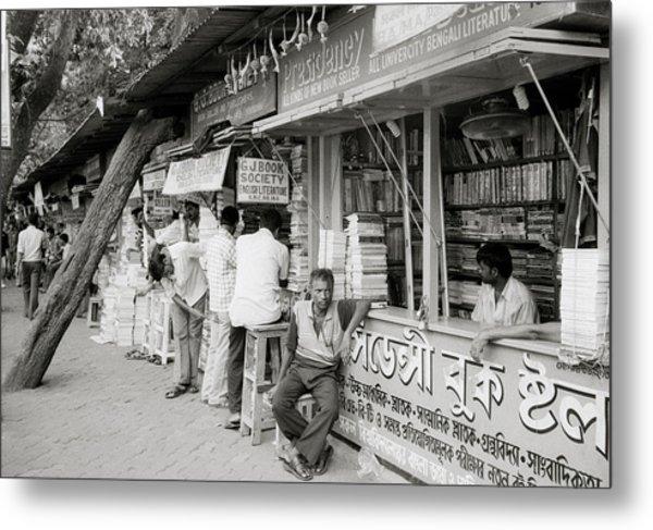 College Street Calcutta  Metal Print