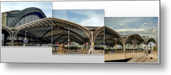 Cologne Central Train Station - Koln Hauptbahnhof - 02 Metal Print by Gregory Dyer
