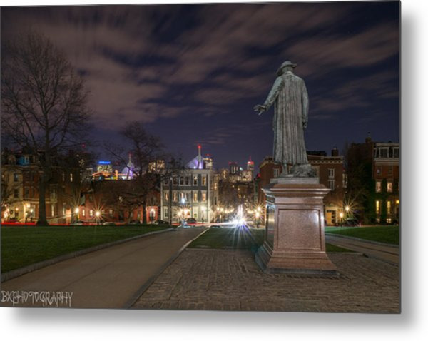 Colonel William Prescott Metal Print