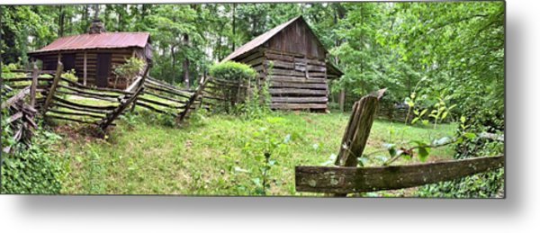 Colonial Village Metal Print