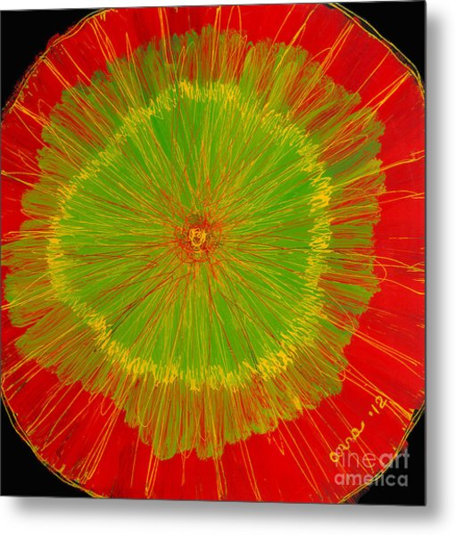 Color Burst 2 Metal Print