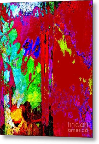 Color Experiment Metal Print
