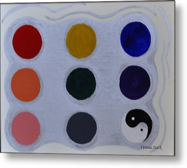 Color From The Series The Elements And Principles Of Art Metal Print