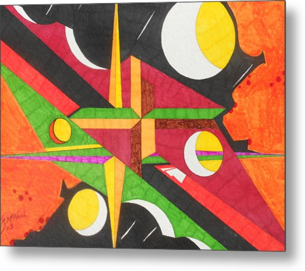 Color In Time Metal Print by Willie McNeal