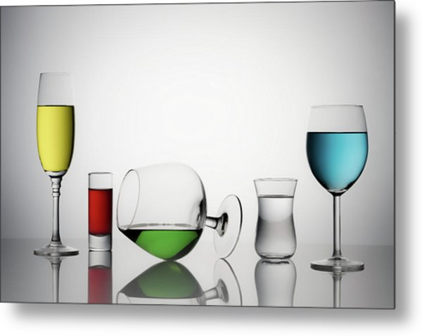 Color Liqued Metal Print