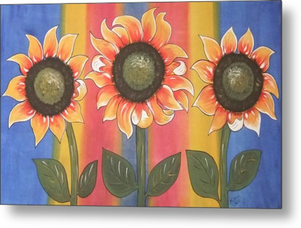 Color Me Sunny Metal Print