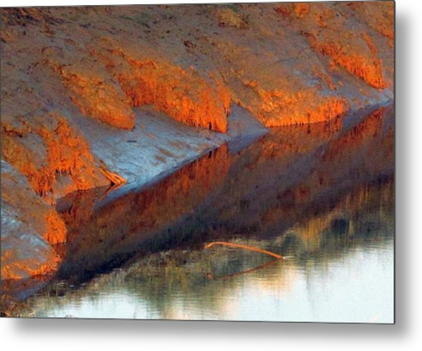 Color Play Metal Print