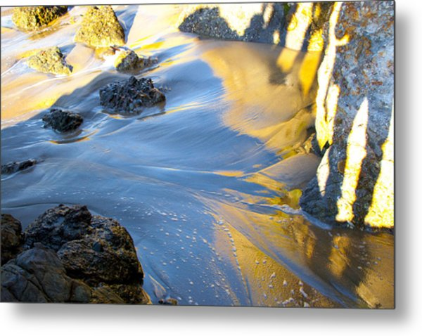 Color Surf Metal Print