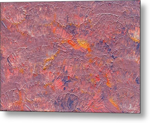 Color Waves Metal Print by Olivia  M Dickerson