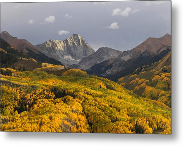 Colorado 14er Capitol Peak Metal Print