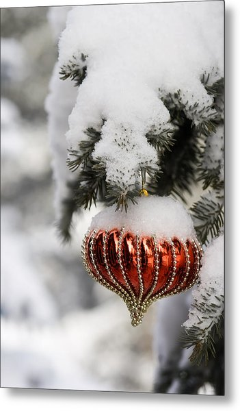 Colorado Christmas 2 Metal Print